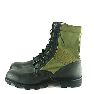 """WorthPoint Military """"RO-SEARCH"""" Combat Boots"""